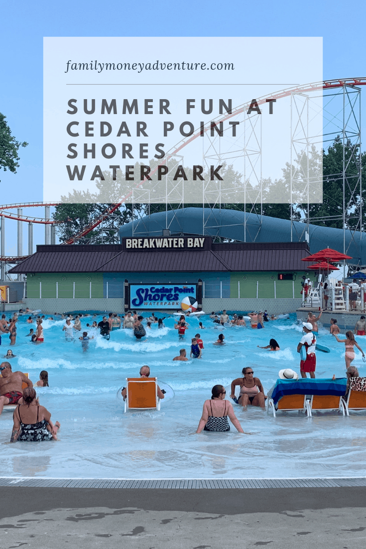 Summer Fun at Cedar Point Shores Waterpark