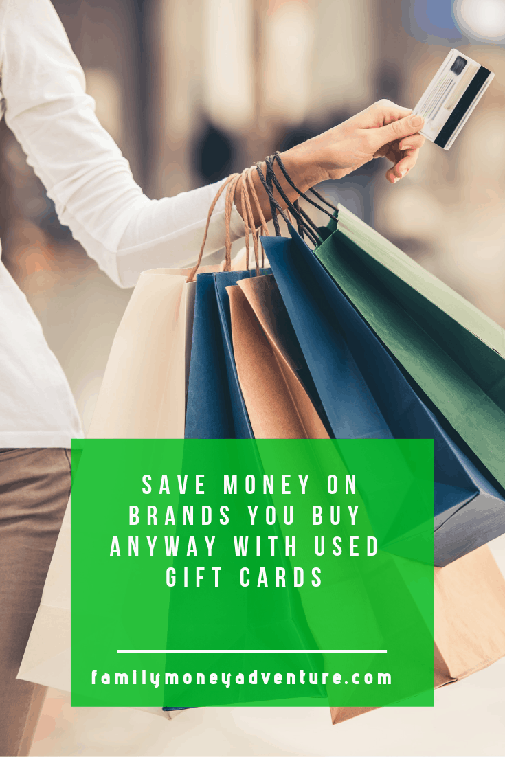 How to Save Money (on Brands You Buy Anyway) with Used Gift Cards