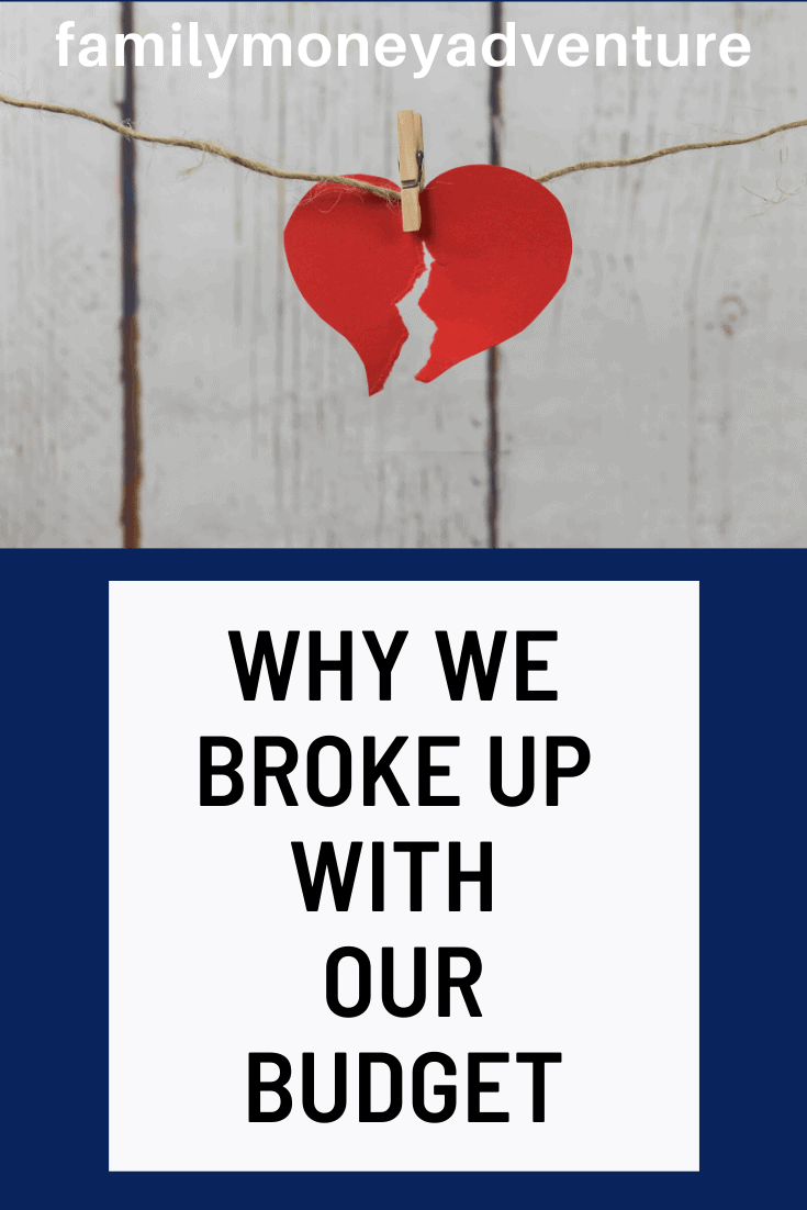 It\'s Not Me, It\'s You: Breaking Up With Our Monthly Budget