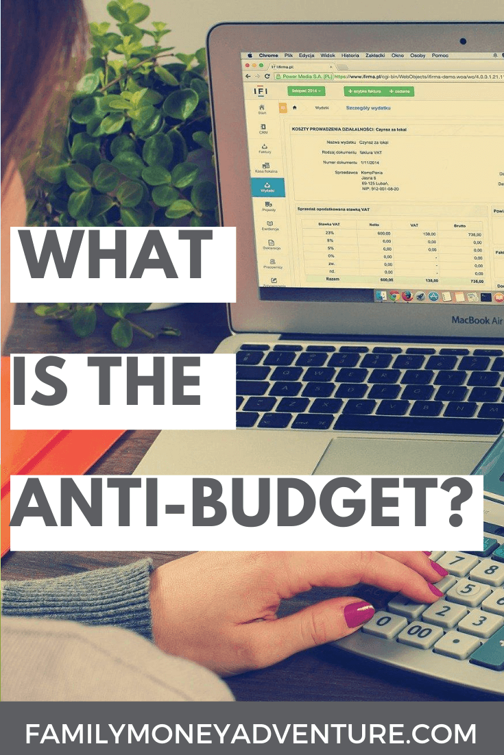 What Is The Anti-Budget?